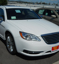chrysler 200 2011 white sedan limited flex fuel 6 cylinders front wheel drive shiftable automatic 99212