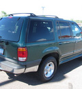 ford explorer 2000 green suv xlt gasoline v6 4 wheel drive automatic with overdrive 55811