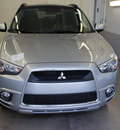 mitsubishi outlander sport 2011 silver se gasoline 4 cylinders front wheel drive automatic 44060