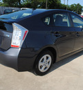 toyota prius 2010 gray hatchback i hybrid 4 cylinders front wheel drive automatic 75228