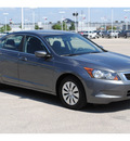 honda accord 2010 gray sedan lx gasoline 4 cylinders front wheel drive automatic with overdrive 77388