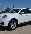 chevrolet equinox 2011 white lt gasoline 4 cylinders front wheel drive automatic 76018