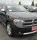 dodge durango 2011 dk  gray suv gasoline 6 cylinders all whee drive automatic 99212