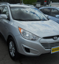 hyundai tucson 2011 diamond silver suv gls gasoline 4 cylinders all whee drive 6 speed automatic 99208