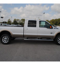 ford f 350 super duty 2011 white lariat biodiesel 8 cylinders 4 wheel drive shiftable automatic 77388