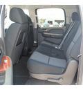 chevrolet suburban 2011 silver suv ls 1500 flex fuel 8 cylinders 2 wheel drive 6 spd auto,hd,elec cntllo 77090