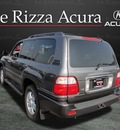 lexus lx 2004 gray suv 470 4x4 gasoline 8 cylinders 4 wheel drive automatic with overdrive 60462
