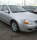 kia spectra 2008 silver sedan ex gasoline 4 cylinders front wheel drive automatic 45342