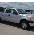 ford f 150 2011 silver pickup truck xl flex fuel 6 cylinders 2 wheel drive 6 speed automatic 77388