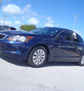honda accord 2009 blue sedan lx gasoline 4 cylinders front wheel drive automatic 33870