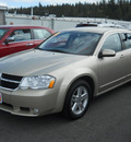 dodge avenger 2010 gold sedan r t gasoline 4 cylinders front wheel drive 4 speed automatic 99212