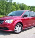 dodge grand caravan 2011 red van express flex fuel 6 cylinders front wheel drive not specified 44024