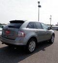 ford edge 2008 lt  gray suv limited gasoline 6 cylinders front wheel drive 6 speed automatic 55321