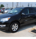 chevrolet traverse 2011 black suv lt gasoline 6 cylinders front wheel drive automatic 77090