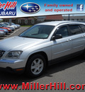 chrysler pacifica 2004 silver suv gasoline 6 cylinders front wheel drive autostick 55811
