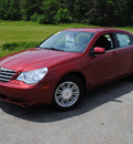 chrysler sebring 2009 red sedan touring gasoline 4 cylinders front wheel drive 4 speed automatic 44024