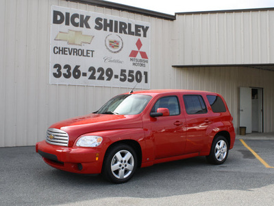 chevrolet hhr 2009 red suv lt gasoline 4 cylinders front wheel drive automatic 27215