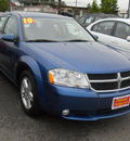 dodge avenger 2010 blue sedan r t gasoline 4 cylinders front wheel drive 4 speed automatic 99212