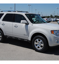 ford escape hybrid 2011 white suv limited hybrid 4 cylinders front wheel drive cont  variable trans  77388