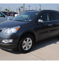 chevrolet traverse 2011 gray suv lt gasoline 6 cylinders front wheel drive automatic 77090