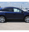 ford edge 2011 dk  blue suv limited gasoline 6 cylinders front wheel drive shiftable automatic 77388
