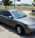hyundai sonata 2009 gray sedan gasoline 4 cylinders front wheel drive automatic 76205