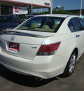 honda accord 2008 white sedan ex l v6 gasoline 6 cylinders front wheel drive automatic 45342