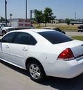 chevrolet impala 2010 white sedan ls gasoline 6 cylinders front wheel drive automatic 76205