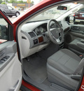 chrysler town and country 2010 red van lx flex fuel 6 cylinders front wheel drive automatic 55321