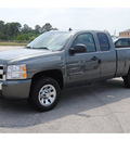 chevrolet silverado 1500 2011 green pickup truck ls flex fuel 8 cylinders 2 wheel drive automatic 77090