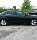 ford fusion 2010 black sedan sport gasoline 6 cylinders front wheel drive automatic 45840