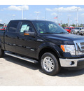 ford f 150 2011 black lariat gasoline 6 cylinders 2 wheel drive automatic 77388