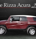 toyota fj cruiser 2008 dk  red suv 4x4 gasoline 6 cylinders 4 wheel drive automatic with overdrive 60462