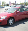 nissan altima 2009 red sedan gasoline 4 cylinders front wheel drive automatic 13212