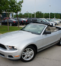 ford mustang 2010 gray gasoline 6 cylinders rear wheel drive automatic 76205