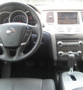 nissan murano 2011 silver sl gasoline 6 cylinders front wheel drive automatic 33884
