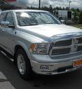 ram ram pickup 1500 2011 silver laramie gasoline 8 cylinders 4 wheel drive automatic 99212