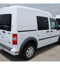 ford transit connect 2011 white van cargo van xlt gasoline 4 cylinders front wheel drive automatic 77388