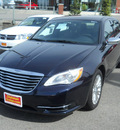 chrysler 200 2011 dk  blue sedan limited flex fuel 6 cylinders front wheel drive shiftable automatic 99212