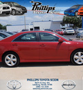 toyota camry 2010 red sedan se 4 cylinders front wheel drive automatic 34788