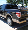 ford f 150 2011 tuxedo black lariat gasoline 6 cylinders 4 wheel drive automatic 76205