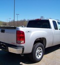 gmc sierra 1500 2011 silver work truck flex fuel 8 cylinders 4 wheel drive not specified 44024