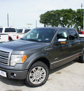 ford f 150 2011 gray platinum gasoline 6 cylinders 2 wheel drive automatic 76205