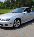 pontiac gto 2004 silver coupe base gasoline 8 cylinders rear wheel drive not specified 44024