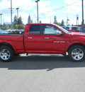 ram ram pickup 1500 2011 red laramie gasoline 8 cylinders 4 wheel drive automatic 99212