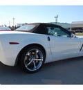 chevrolet corvette 2011 white z16 grand sport gasoline 8 cylinders rear wheel drive 4 spd auto elec cntlled 77090