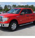 ford f 150 2011 red xlt rad gasoline 6 cylinders 4 wheel drive automatic 77388