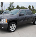 chevrolet silverado 1500 2011 dk  gray ltz flex fuel 8 cylinders 2 wheel drive automatic 77090