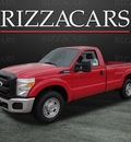 ford f 250 2011 red super duty flex fuel 8 cylinders 2 wheel drive automatic with overdrive 60546