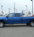 ram ram pickup 2500 2011 blue st diesel 6 cylinders 4 wheel drive not specified 99212